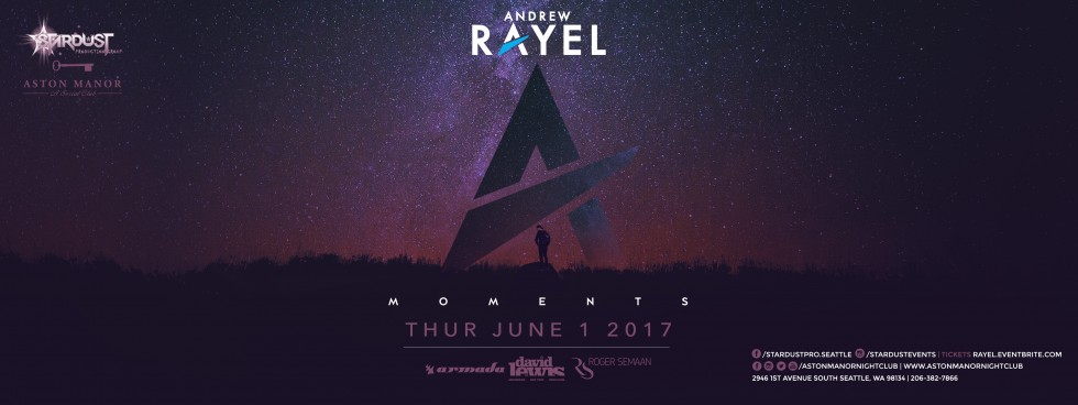 Andrew Rayel at Aston Manor